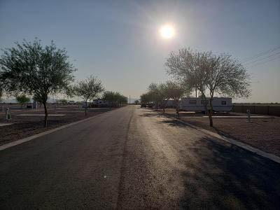 paved roads at copper mountain rv park